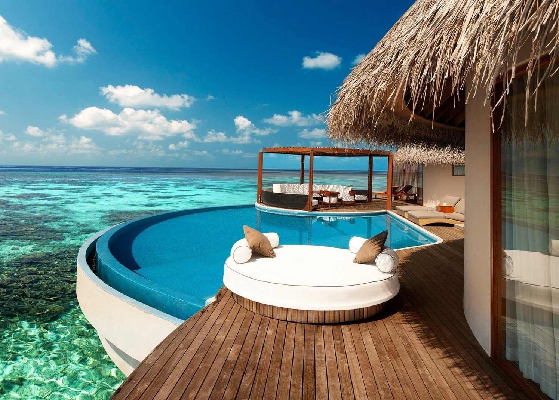 Luxurious Resort on an island